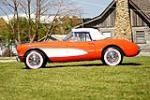 1956 CHEVROLET CORVETTE CONVERTIBLE - Side Profile - 90456