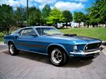 1969 FORD MUSTANG MACH 1 FASTBACK - Front 3/4 - 90901