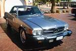 1978 MERCEDES-BENZ 450SL 2 DOOR CONVERTIBLE - Front 3/4 - 90903