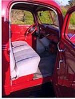 1938 FORD CUSTOM PICKUP TRUCK - Interior - 90988