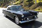 1955 FORD THUNDERBIRD CONVERTIBLE - Front 3/4 - 90992