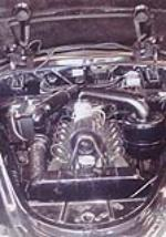 1946 LINCOLN CONTINENTAL 2 DOOR CONVERTIBLE - Engine - 90994