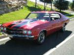 1970 CHEVROLET CHEVELLE SS 396 2 DOOR COUPE - Front 3/4 - 90999