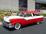 1955 FORD COUNTRY SEDAN WAGON - Front 3/4 - 91018