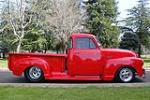 1952 CHEVROLET 3100 CUSTOM PICKUP - Side Profile - 91021
