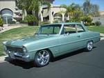 1966 CHEVROLET NOVA 2 DOOR CUSTOM COUPE - Front 3/4 - 91034