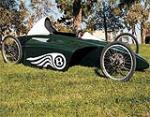 2007 BENTLEY ZER-GREEN GRAVITY RACER - Front 3/4 - 91092