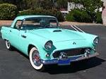 1955 FORD THUNDERBIRD CONVERTIBLE - Front 3/4 - 91095