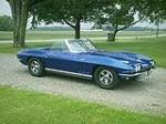 1966 CHEVROLET CORVETTE CONVERTIBLE - Front 3/4 - 91123