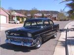 1956 CHEVROLET 210 CUSTOM 2 DOOR SEDAN - Front 3/4 - 91124