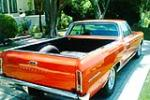 1966 CHEVROLET EL CAMINO PICKUP - Rear 3/4 - 91198