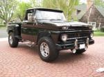 1963 CHEVROLET C-10 CUSTOM STEPSIDE PICKUP - Front 3/4 - 91208
