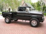 1963 CHEVROLET C-10 CUSTOM STEPSIDE PICKUP - Side Profile - 91208
