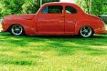 1947 FORD CUSTOM CLUB COUPE - Side Profile - 91213