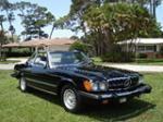 1983 MERCEDES-BENZ 380SL ROADSTER - Front 3/4 - 91216