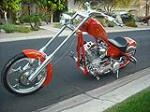 2004 BIG DOG CUSTOM CHOPPER - Front 3/4 - 91400
