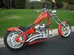 2004 BIG DOG CUSTOM CHOPPER - Rear 3/4 - 91400