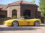 1999 FERRARI 355 F-1 SPIDER - Side Profile - 93202