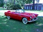 1956 FORD THUNDERBIRD CONVERTIBLE - Front 3/4 - 93365