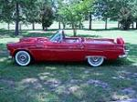 1956 FORD THUNDERBIRD CONVERTIBLE - Side Profile - 93365