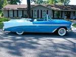 1956 CHEVROLET BEL AIR CONVERTIBLE - Side Profile - 93366