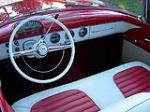 1955 FORD SUNLINER CONVERTIBLE - Interior - 93368