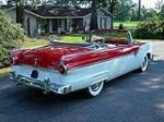 1955 FORD SUNLINER CONVERTIBLE - Rear 3/4 - 93368