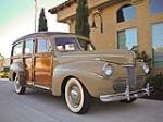 1941 FORD WOODY WAGON - Front 3/4 - 93380