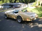 1977 CHEVROLET CORVETTE COUPE - Rear 3/4 - 93438