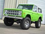 1973 FORD BRONCO CONVERTIBLE - Front 3/4 - 93455