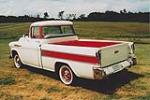 1957 CHEVROLET CAMEO PICKUP - Rear 3/4 - 93462