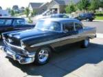 1956 CHEVROLET BEL AIR 2 DOOR HARDTOP - Front 3/4 - 93466