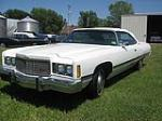 1974 CHEVROLET CAPRICE CONVERTIBLE - Front 3/4 - 93500