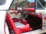 1956 FORD THUNDERBIRD CONVERTIBLE - Interior - 93516