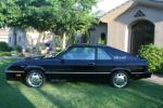 1987 DODGE CHARGER GLH-S 2 DOOR COUPE - Side Profile - 93524
