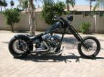 2006 SPCNS HARDTAIL CUSTOM CHOPPER - Side Profile - 93545