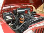 1948 WILLYS JEEPSTER 2 DOOR CONVERTIBLE - Engine - 93568