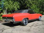 1968 CHEVROLET CHEVELLE SS 2 DOOR CONVERTIBLE - Rear 3/4 - 93584