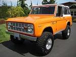 1969 FORD BRONCO CUSTOM 4X4 - Side Profile - 93585