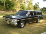 1964 RAMBLER CROSS COUNTRY 4 DOOR STATION WAGON - Front 3/4 - 93602