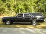 1964 RAMBLER CROSS COUNTRY 4 DOOR STATION WAGON - Side Profile - 93602