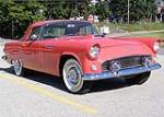 1956 FORD THUNDERBIRD CONVERTIBLE - Front 3/4 - 93670