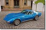 1971 CHEVROLET CORVETTE COUPE - Front 3/4 - 96080
