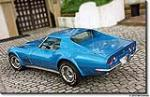 1971 CHEVROLET CORVETTE COUPE - Rear 3/4 - 96080
