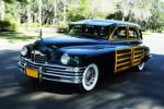 1948 PACKARD SERIES 22 WOODY WAGON - Front 3/4 - 96104