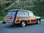 1951 FORD COUNTRY SQUIRE CUSTOM WOODY WAGON - Rear 3/4 - 96106