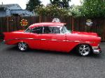 1956 CHEVROLET BEL AIR CUSTOM 2 DOOR HARDTOP - Side Profile - 96120