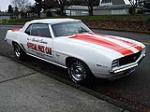 1969 CHEVROLET CAMARO INDY PACE CAR CONVERTIBLE - Front 3/4 - 96124