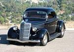 1935 FORD 3 WINDOW CUSTOM COUPE - Front 3/4 - 96145