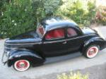 1938 FORD 5 WINDOW CUSTOM COUPE - Side Profile - 96146